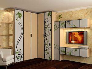 Гостиная - Модульный Шкаф-купе на заказ в Астане