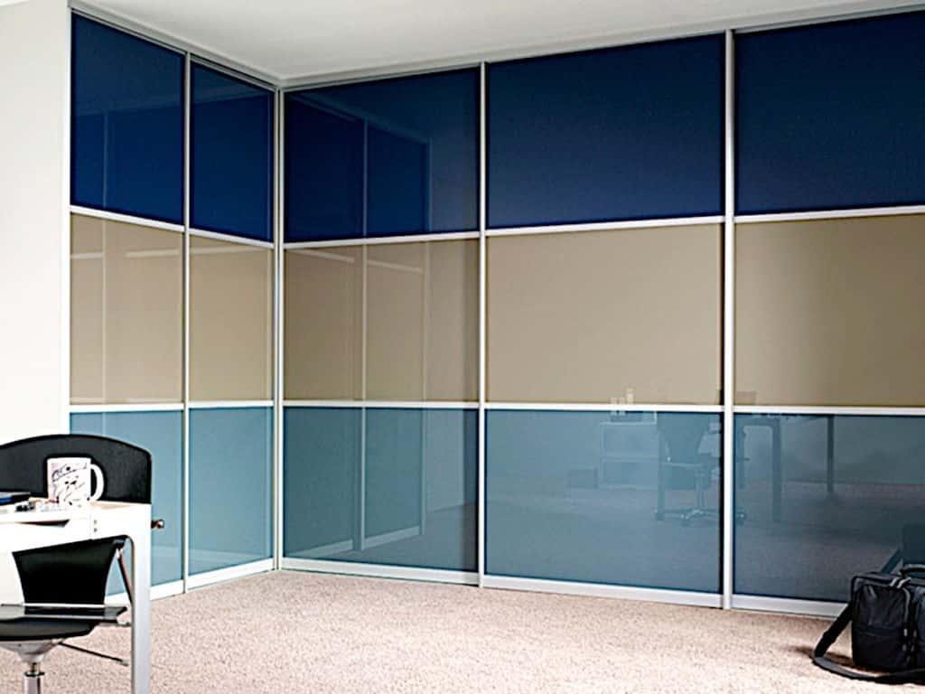 Офис - Встроенный Шкаф-купе на заказ в Астане