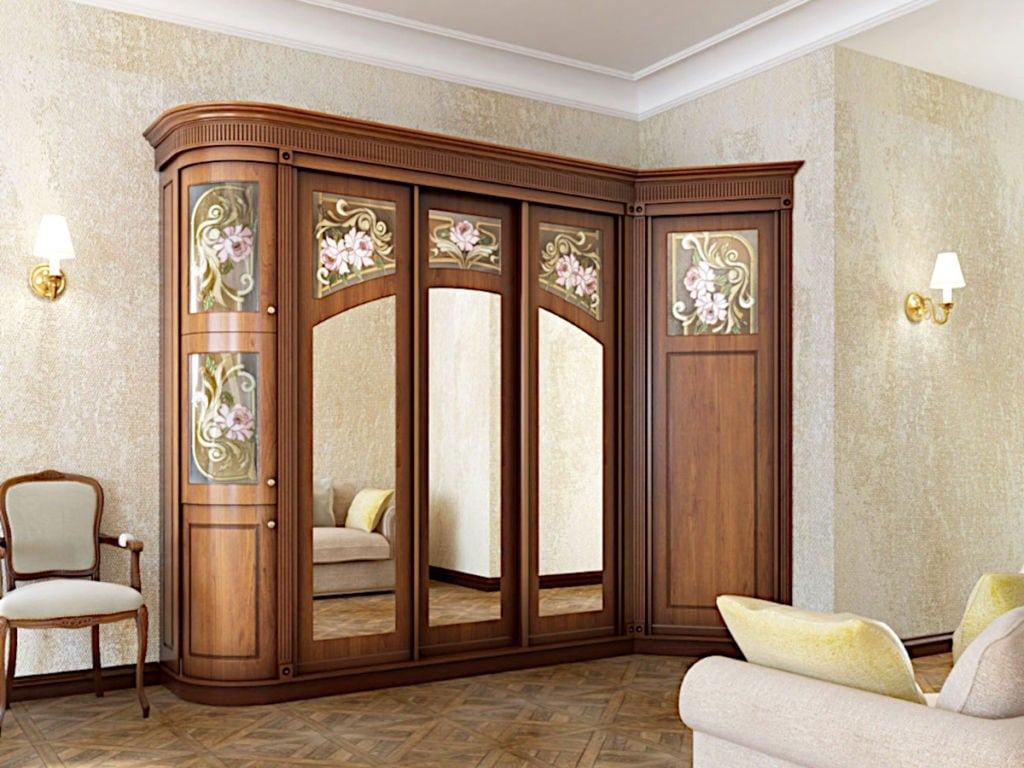 Гостиная - Встроенный Шкаф-купе на заказ в Астане